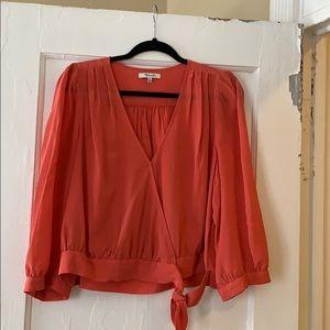 Madewell Silk Shirt